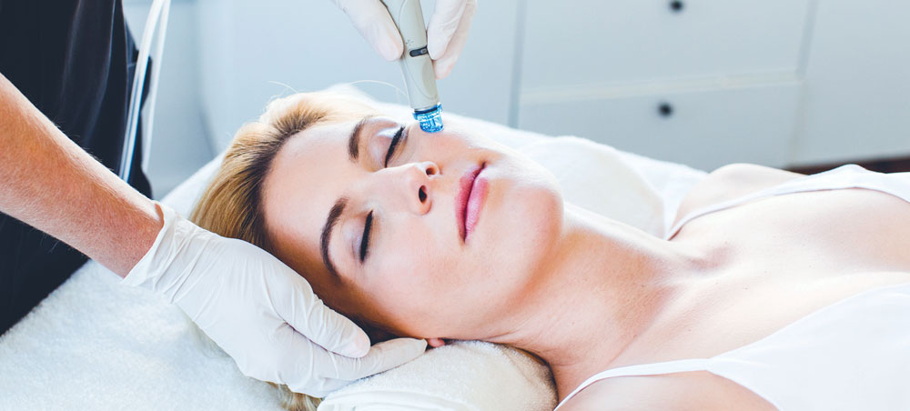 Image showing Hydrafacial treatment